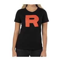 Image for Team Rocket Fitted Crew Neck T-Shirt - Women from Pokémon Center