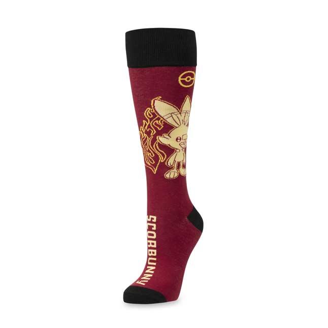 One Size Galar First Partner Scorbunny Socks Pok/émon Center