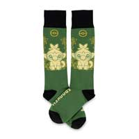 Image for Grookey Galar First Partner Socks (One Size-Adult) from Pokemon Center