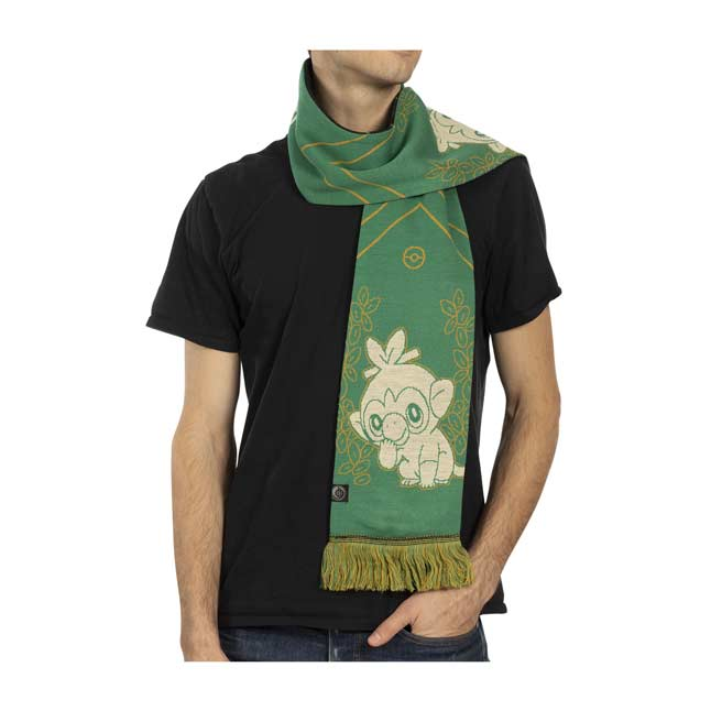 Image for Grookey Galar First Partner Knit Scarf (One Size-Adult) from Pokémon Center