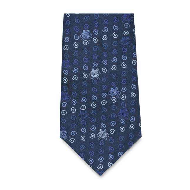 Image for Poliwhirl Pokémon Classics Silk Necktie (One Size-Adult) from Pokemon Center