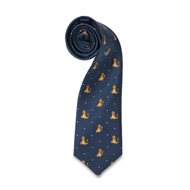 Image for Charmander Pokémon Classics Silk Necktie (One Size-Adult) from Pokemon Center