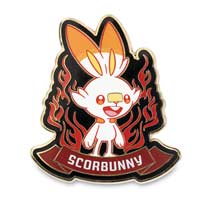 Image for Grookey, Scorbunny & Sobble Galar First Partner Pokémon Pins (3-Pack) from Pokemon Center