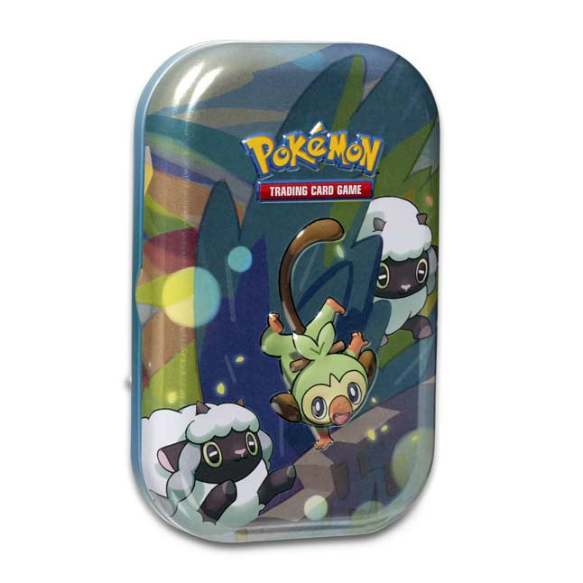 Pokemon Tcg Galar Pals Mini Tin Grookey Pokemon Center Official Site Grookey evolves a total of two times before reaching its final evolutionary grookey's fur is capable of generating energy from sunlight, which it can then share with wilted plants. usd