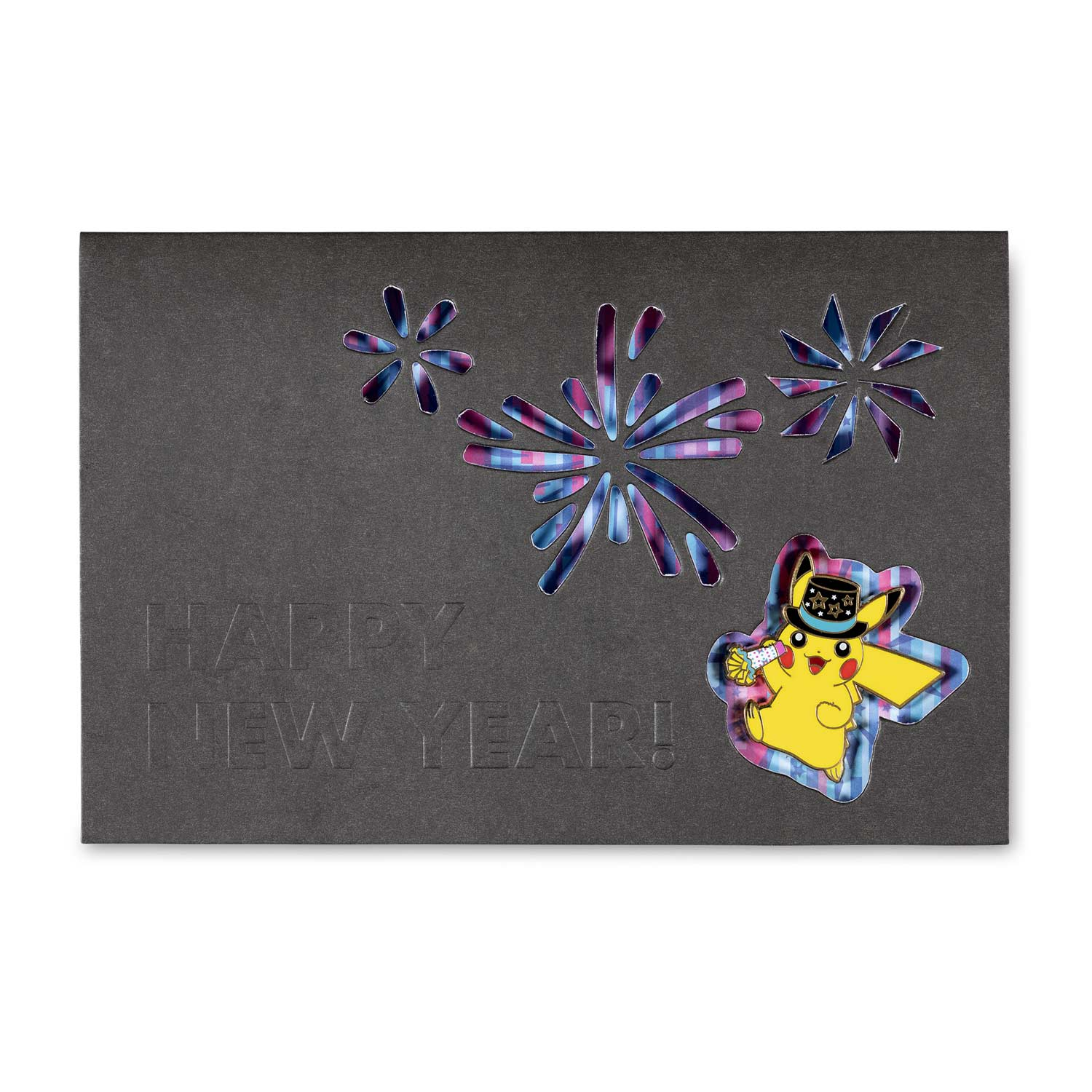 Pikachu New Year S 2020 Pokemon Pin Greeting Card