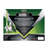 Pokemon Galarian Sirfetch'd V Box Collection New and Sealed Sword /& Shield Packs