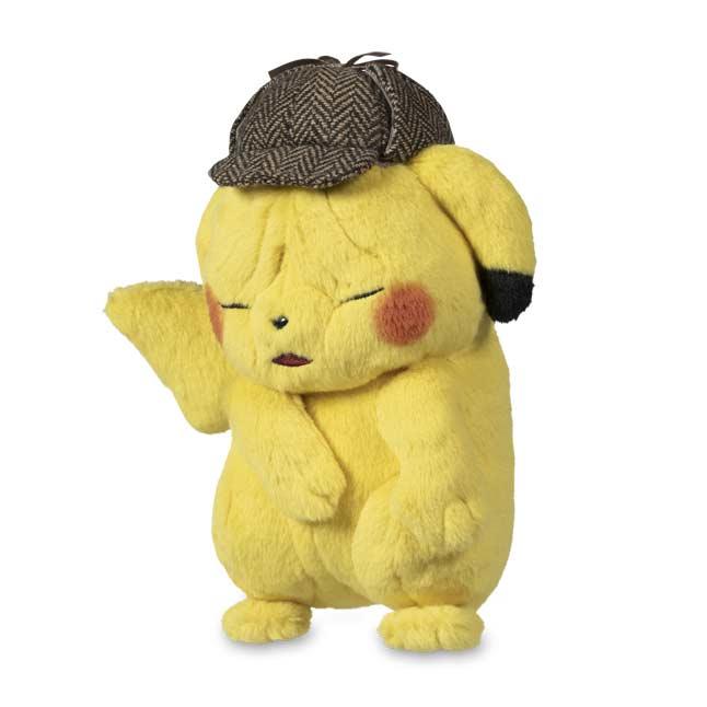 Pokemon Detective Pikachu Wrinkled Face Plush 8 In Pokemon
