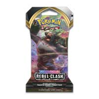 Pok 233 Mon Tcg Sword Amp Shield Rebel Clash Sleeved Booster