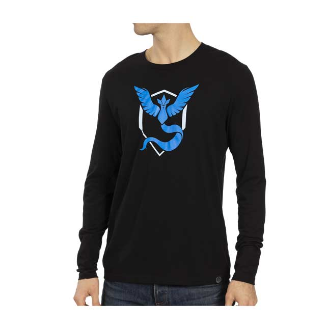 Image for Pokémon GO Team Mystic Fitted Long-Sleeve T-Shirt - Men from Pokémon Center