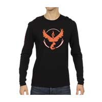 Image for Pokémon GO Team Valor Fitted Long-Sleeve T-Shirt - Men from Pokémon Center