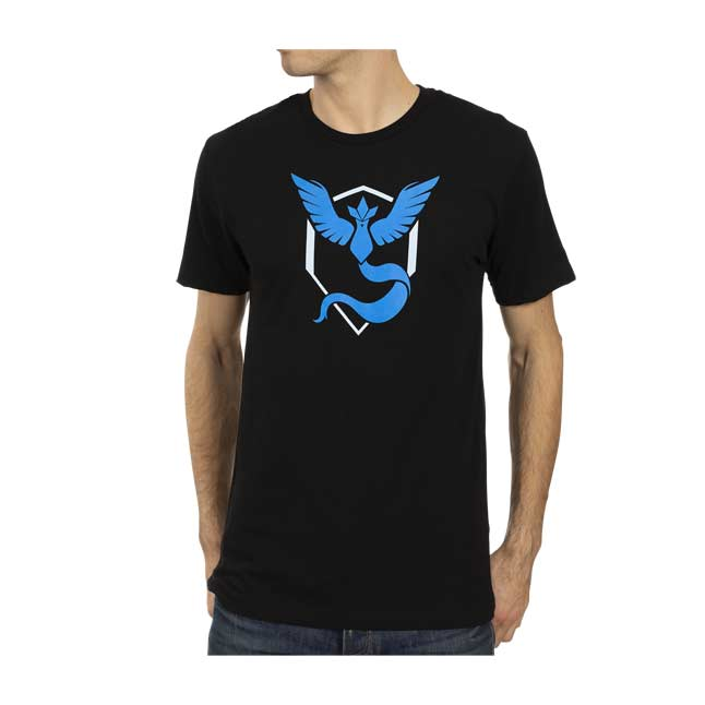 Image for Pokémon GO Team Mystic Relaxed Fit Crew Neck T-Shirt - Men from Pokémon Center