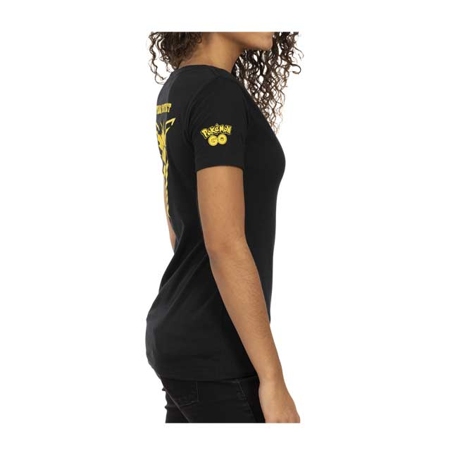 Image for Pokémon GO Team Instinct Fitted V-Neck T-Shirt - Women from Pokémon Center