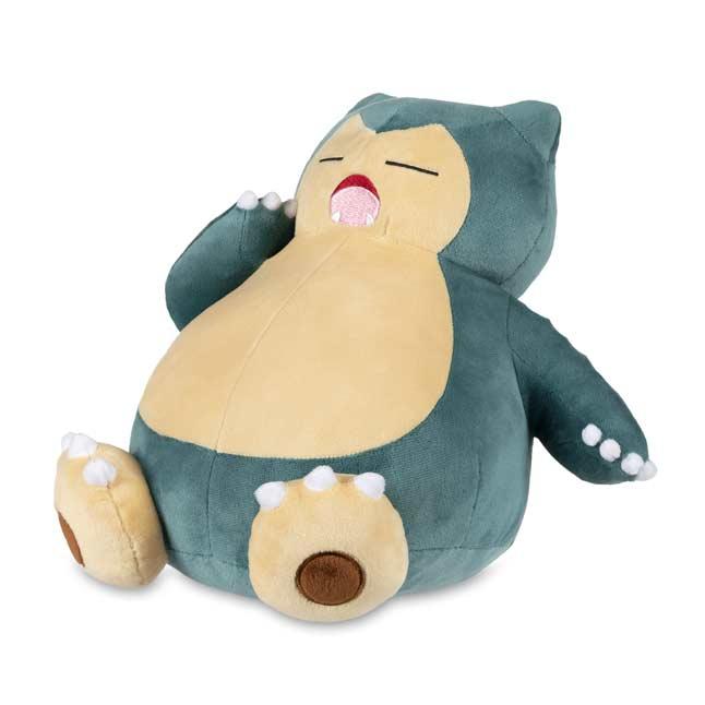 Pokemon Center Original Snorlax/'s yawn Plush doll From Japan