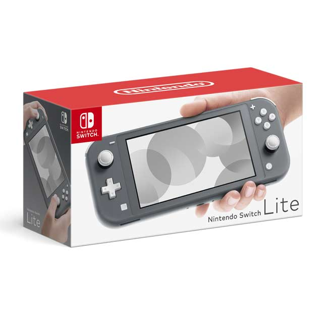 Image for Nintendo Switch Lite - Gray from Pokemon Center