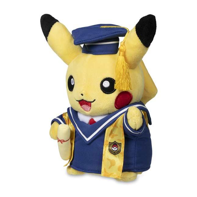 Pikachu Celebrations Graduate Pikachu Poke Plush 8 In