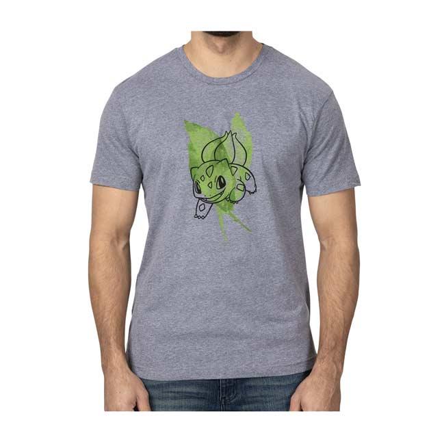 Pokémon-manga Bulbasaur Men/'s t-shirt talla S-M-L-XL XXL Nuevo