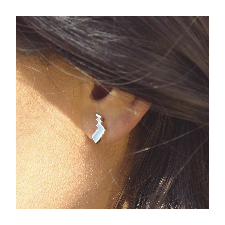 Pokemon Center Pokemon accessory Series Pierced Earrings P46 Pokeball