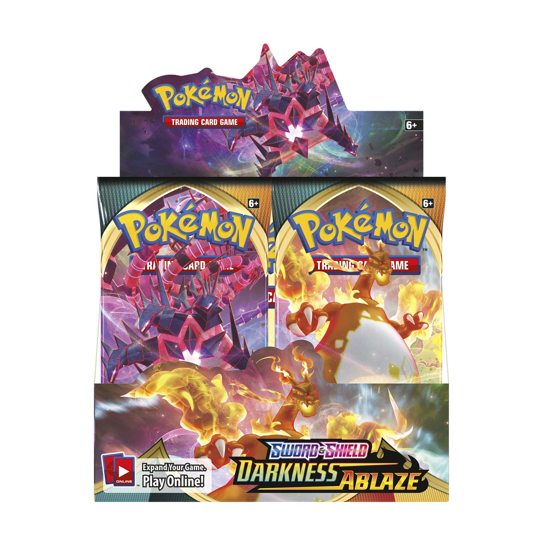 Pokemon Card TCG 4X Sword And Shield Darkness Ablaze Booster Packs ART SET