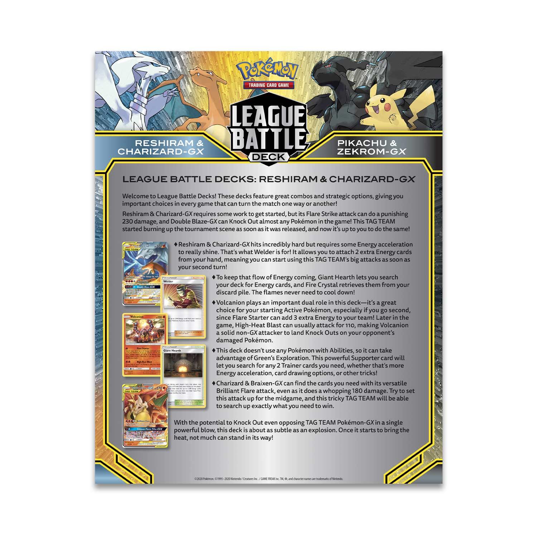 Pokemon Reshiram /& Charizard-GX League Battle DeckNew and SealedTCG Cards