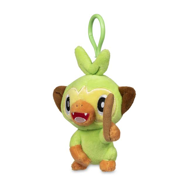 Grookey Poke Plush Key Chain Pokemon Center Official Site + printed on premium glossy sticker paper + sticker is about 2½ x 3. usd