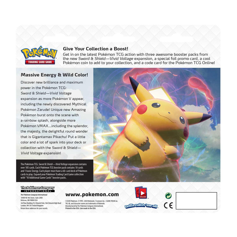 Pokemon TCG Vivid Voltage Blisters Vaporeon SWSH072 Holo Promo NM-M
