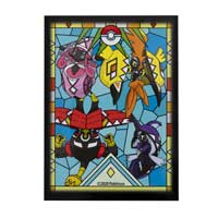 Pokémon TCG: Island Guardian Stained Glass Card Sleeves (65 Sleeves) 1
